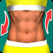 Perfect abs workout - waistline tracker