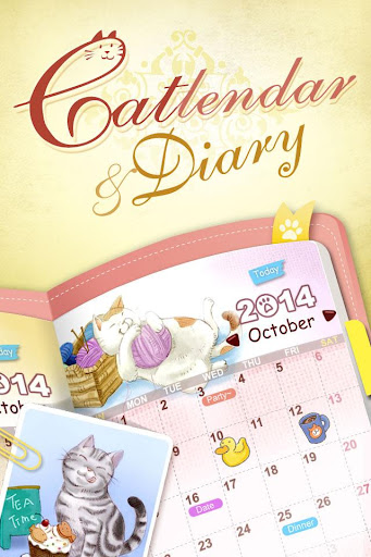Catlendar & Diary screenshot 1