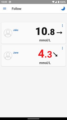 Dexcom Follow mmol/L DXCM1 4.1.0 screenshots 1