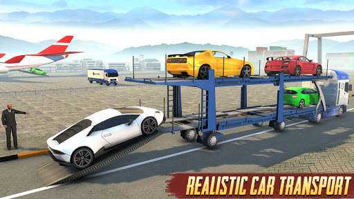 Airplane Car Transport Driver: Airplane Games 2020 screenshots 12