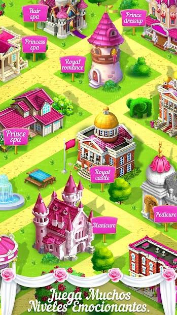 Captura de Pantalla 23 de princesa boda historia de amor para android