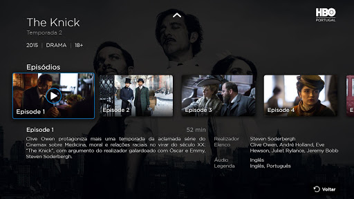 HBO Portugal - Android TV screenshots 2