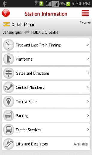 Delhi Metro Rail 6.4 Screenshots 7