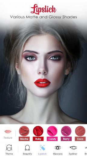 Face Makeup Camera - Beauty Makeover Photo Editor 1.0.0 Screenshots 4