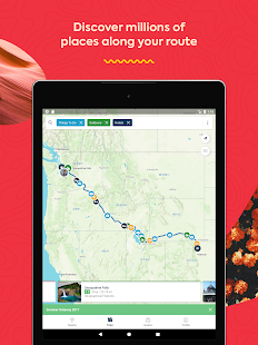 Roadtrippers - Trip Planner Screenshot