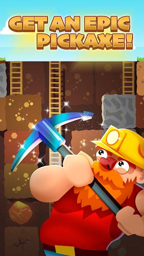 Gold Digger FRVR - Mine Puzzle  screenshots 1