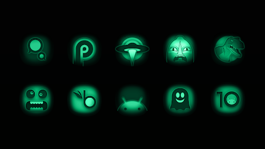 Night Vision – Stealth Green Icon Pack 1.7 Apk 1