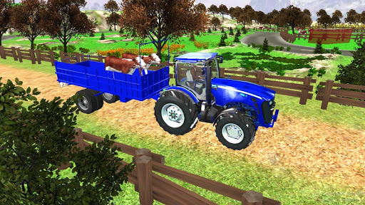 Village Tractor Games:Chained Tractor Offroad Game 1.00.0000 screenshots 10