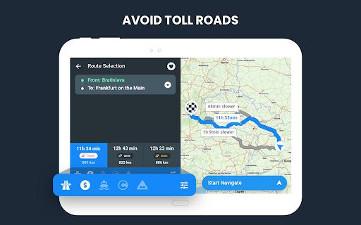 RoadLords - Free Truck GPS Navigation android2mod screenshots 20