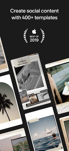 Unfold u2014 Story Maker & Instagram Template Editor apktram screenshots 1