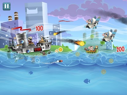 Cats vs Pigs: Battle Arena Screenshot