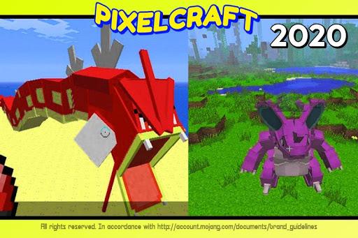 Mod Pokecube For MCPE + Skins Pixelmon  screenshots 6