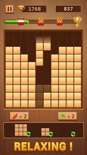 Wood Block - Classic Block Puzzle Game 1.0.7 screenshots 1