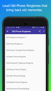 Old Phone Ringtones – Free Loud Alarm Sounds 1.8 Mod + Data Download 3
