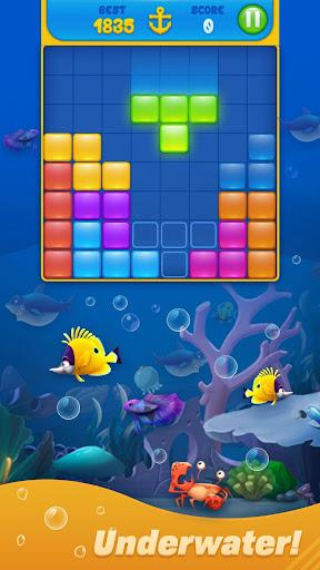 Save Fish - Block Puzzle Aquarium modavailable screenshots 3