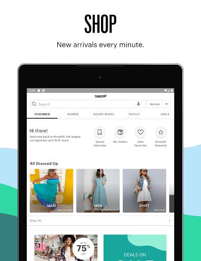 thredUP | Thrift & Sell Womenu2019s & Kidsu2019 Clothing modavailable screenshots 9