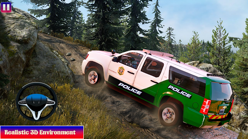 Offroad Police Car Driving Simulator Game 0.1.2 screenshots 12