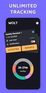 WOLT – Online & Last Seen Tracker for Families 1