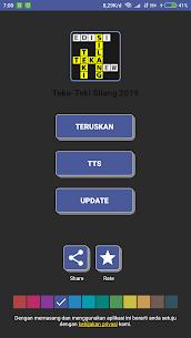 TTS Kotak 2019 – Teka Teki Silang Offline Terbaru 3.1 Mod APK Updated 1