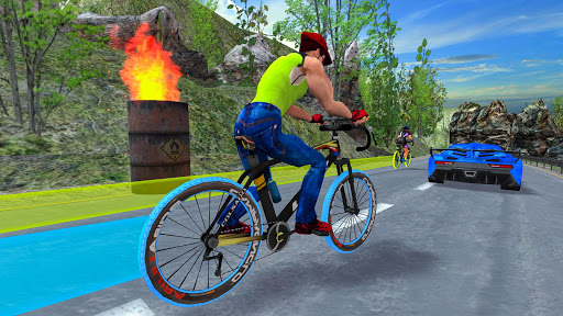 Light Bike Fearless BMX Racing Rider 2.1 screenshots 8