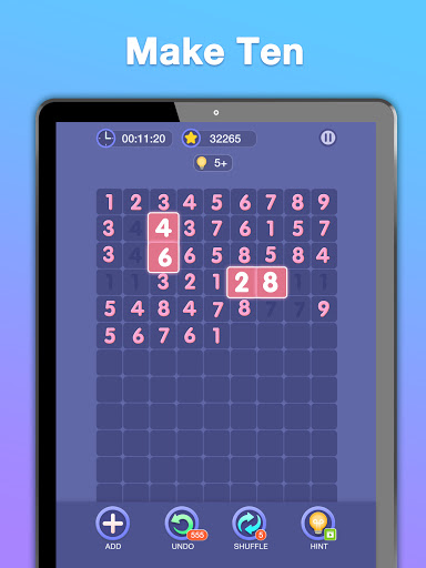 Match Ten - Number Puzzle  screenshots 18