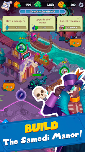 Samedi Manor: Idle Simulator apkpoly screenshots 6