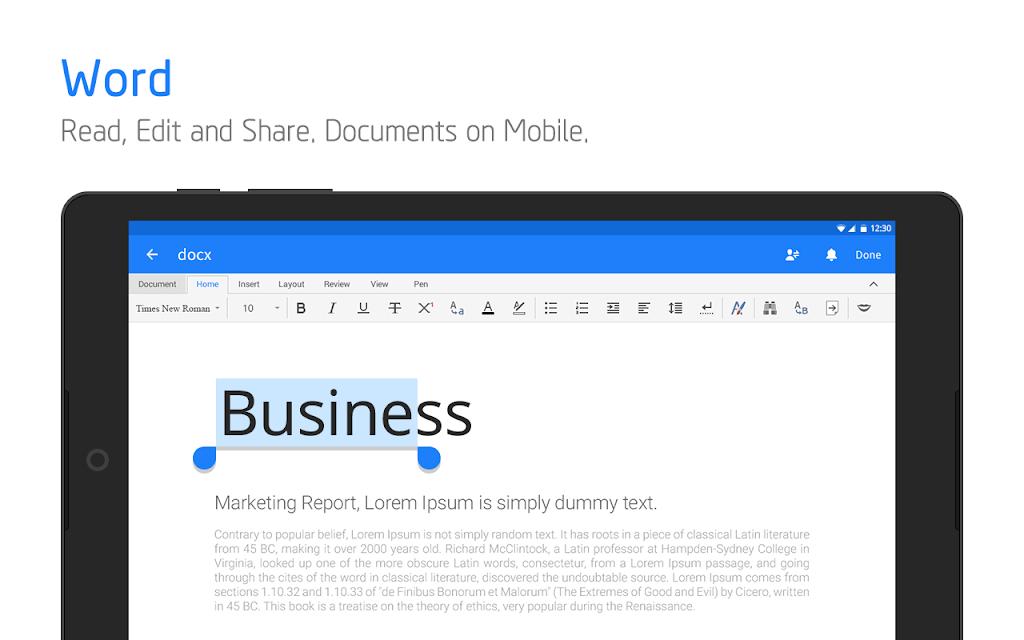 Polaris Office - Free Docs, Sheets, Slides + PDF poster 9