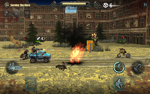 Dead Paradise: Car Shooter & Action Game Screenshot