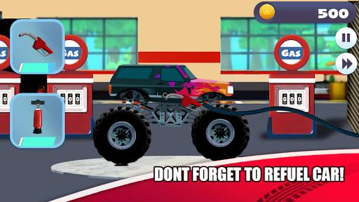 Truck Racing for kids  screenshots 2