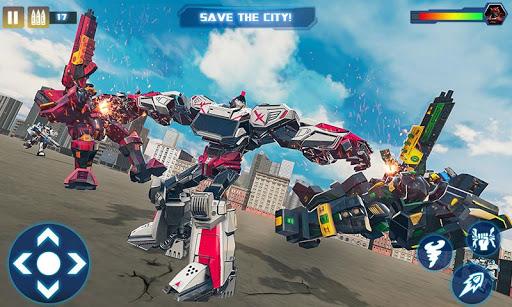 Tornado Robot Car Transform: Hurricane Robot Games 1.0.5 Screenshots 6