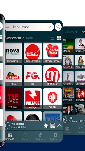 radios france: fm radio and internet radio screenshot 3
