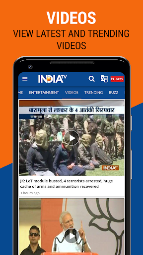 India TV - Latest Hindi News Live, Video android2mod screenshots 8