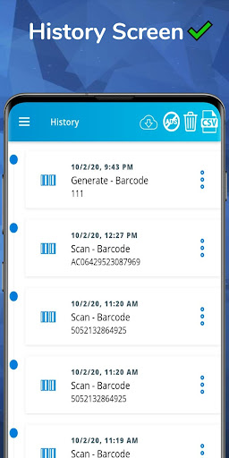 Barcode reader and QR code scanner app android2mod screenshots 4