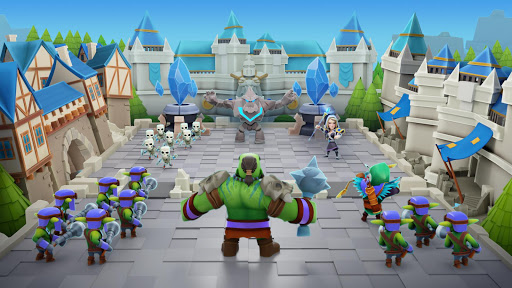 Clash of Wizards - Battle Royale apktreat screenshots 1