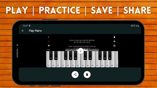Play Piano: Piano Notes | Keyboard 2.3 screenshots 6