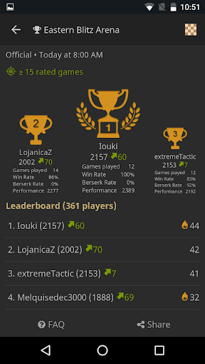 lichess u2022 Free Online Chess 7.8.1 Screenshots 4