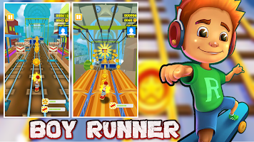 Subway Boy Runner: Boy Surf Run 2020