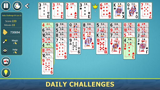 FreeCell Solitaire Mobile 2.0.7 screenshots 7