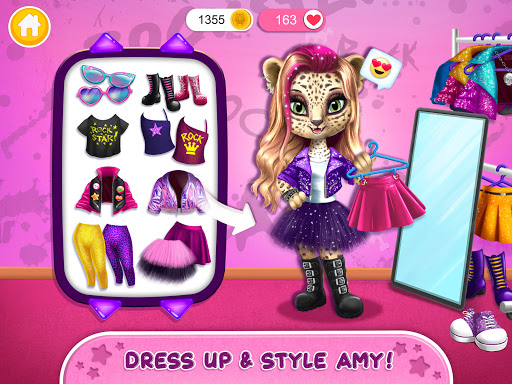 Rock Star Animal Hair Salon - Super Style & Makeup android2mod screenshots 10