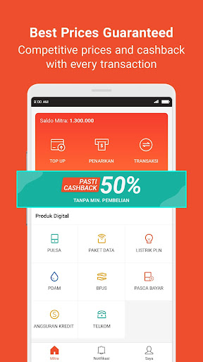 Mitra Shopee: Sell Top up, Game Voucher and Bills  Screenshots 2