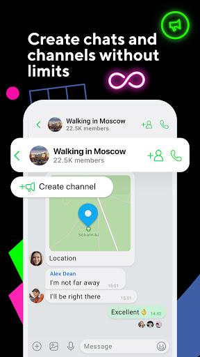 ICQ New Messenger App: Video Calls & Chat Rooms 9.21(824744) screenshots 6