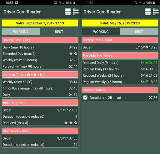 Driver Card Reader  Screenshots 15