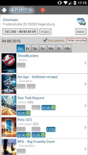 Ab Ins Kino - u00c4ltere version screenshots 2