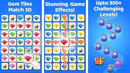 Gem Match 3d - Perfect Tile Matching Games 2020  screenshots 6