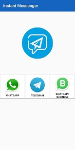 Instant Messenger-Message without Saving Number 2