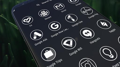 Monoic Icon Pack: White, Monotone, Minimalistic screenshots 1