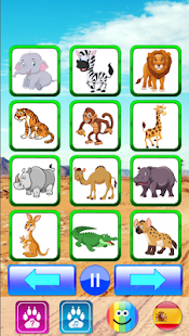 Animal sounds. Learn animals names for kids 7.0 screenshots 3