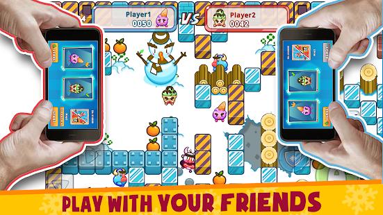 Fruit & Ice Cream - Ice cream war Maze Game 6.5 Screenshots 1