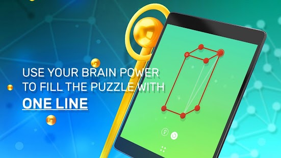 One Line - One Touch Drawing Puzzle Screenshot
