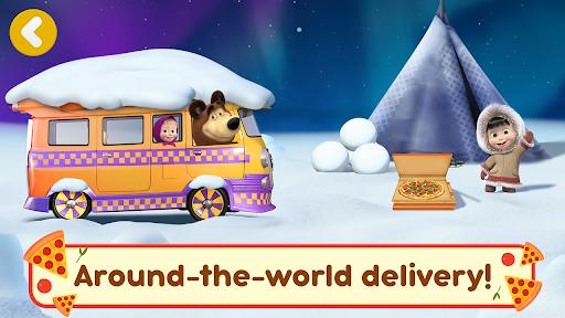 Masha and the Bear Pizzeria Game! Pizza Maker Game  screenshots 6